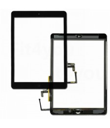 iPad Air Vidro Touch Preto
